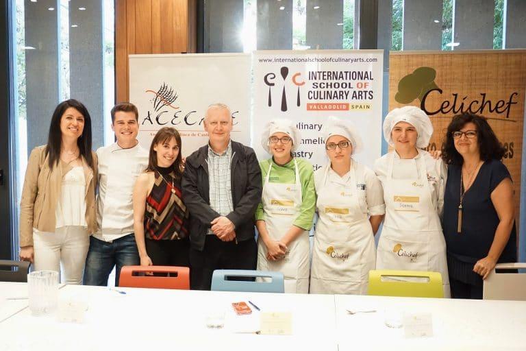 Concurso Celichef de la Asociación de Celiacos de Castilla y León.
